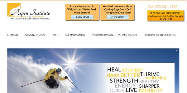 Aspen Institute of Antiaging and Regenerative Medicine